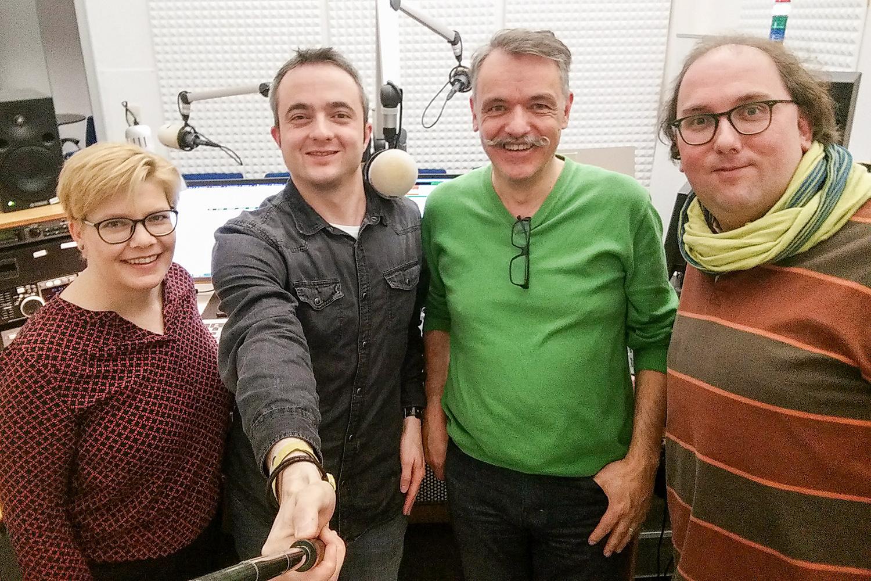 Nadine Nobile, Markus Hörster, Sven Franke, Christian Cordes