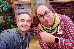Markus Hörster und Christian Cordes nach Episode 27
