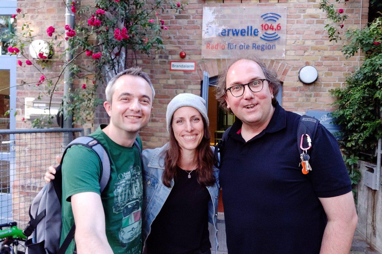 Markus Hörster, Stefanie Krause und Christian Cordes nach Episode 28