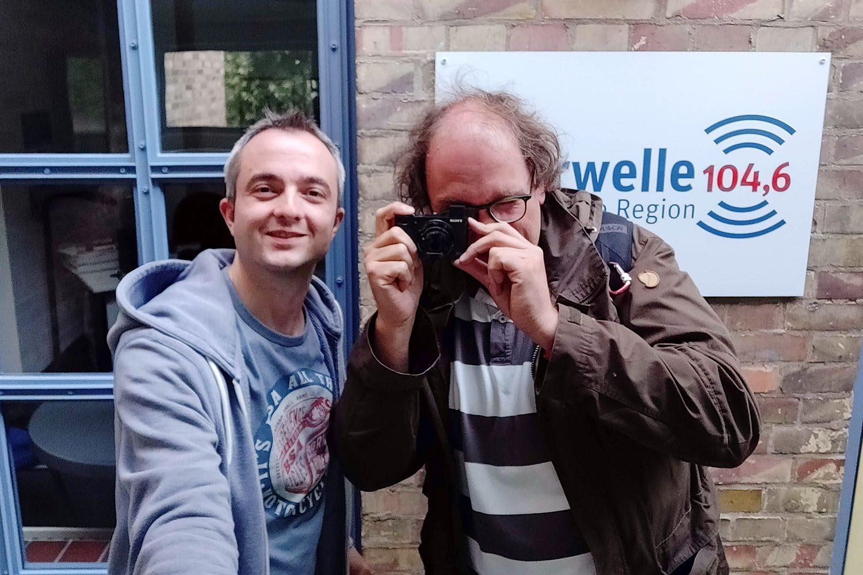 Markus Hörster und Christian Cordes nach Episode 29