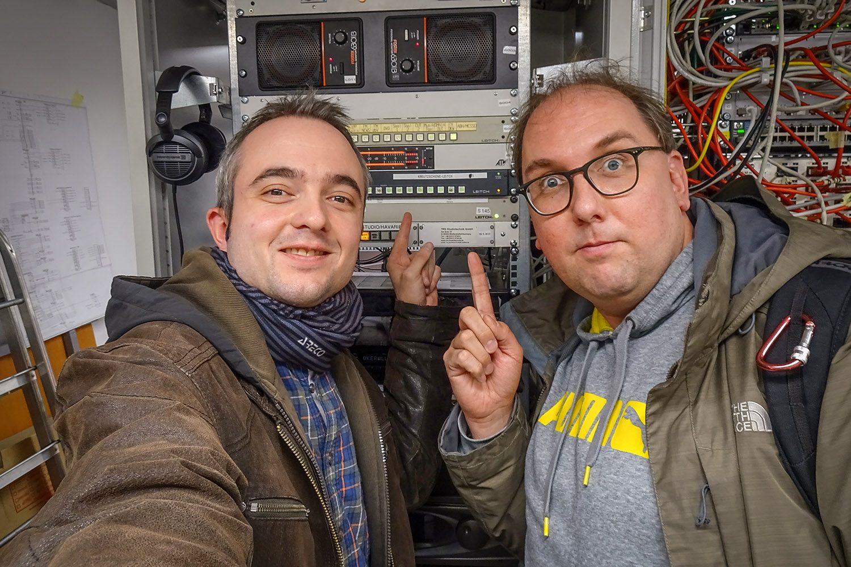 Markus Hörster und Christian Cordes nach Episode 33
