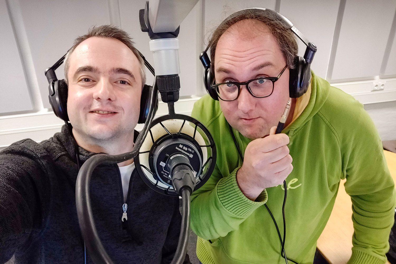 Markus Hörster und Christian Cordes nach Episode 34