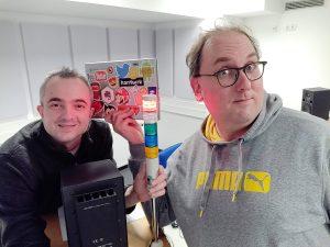 Markus Hörster und Christian Cordes nach Logbuch Digitalien Episode 35