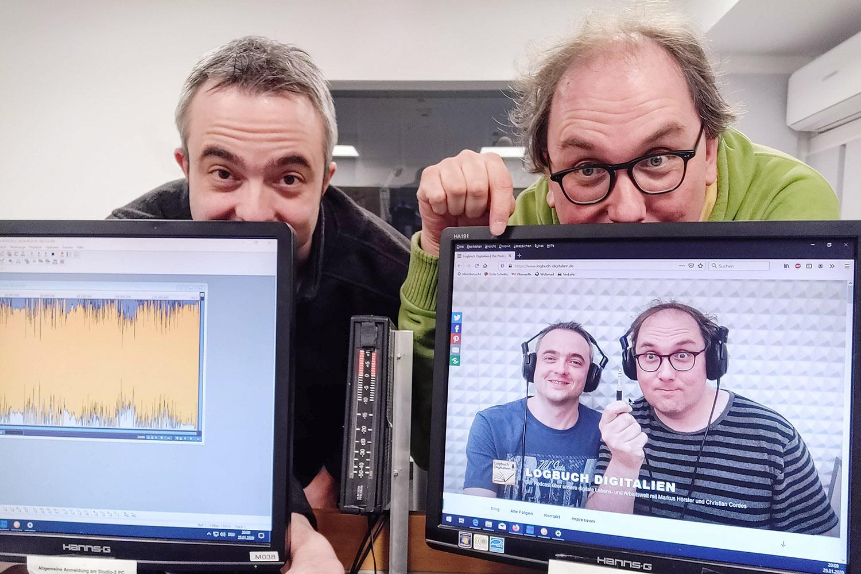 Markus Hörster und Christian Cordes nach Logbuch Digitalien Episode 36